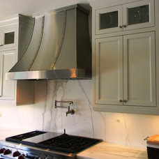 Contemporary Range Hoods And Vents by Custom Range Hoods