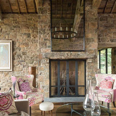 Contemporary Porch by JLF & Associates, Inc.