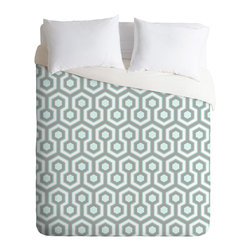 DENY Designs - Caroline Okun Icicle Duvet Cover - Turn your basic, boring down comforter into the super stylish focal point of your bedroom. Our Luxe Duvet is made from a heavy-weight luxurious woven polyester with a 50% cotton/50% polyester cream bottom. It also includes a hidden zipper with interior corner ties to secure your comforter. it's comfy, fade-resistant, and custom printed for each and every customer.