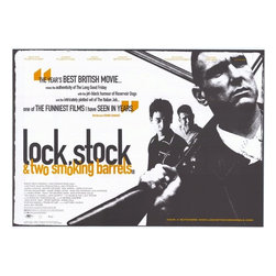 Lock Stock and 2 Smoking Barrels 11 x 17 Movie Poster - Style B - Lock Stock and 2 Smoking Barrels 11 x 17 Movie Poster - Style B Jason Flemyng, Dexter Fletcher, Nick Moran, Jason Statham, Steven Mackintosh, Vinnie Jones, Sting, Lenny McLean, P. H. Moriarty, Steve Sweeney, Frank Harper, Stephen Marcus. Directed By: Guy Ritchie. Producer: Gramercy Pictures.