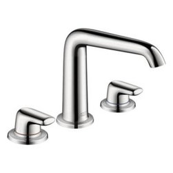 Axor - Hansgrohe -Axor Bouroullec Widespread Faucet, Tall, No Pop-up-19155001 - With Lever Handles