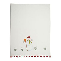 Vintage Snowman Kitchen Towel - To decorate your kitchen for the season, you also need to update your fabrics. Why not get one of these Vintage Snowman Kitchen Towels? It's simple and classic, and it will bring any kitchen into the holiday mood.