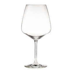 """Schott Zwiesel Taste Burgundy Wine Glass, Set of 6 - Enjoy wine tasting at home with this exclusive collection of stemware made by Schott Zwiesel specially for Pottery Barn. Each glass has been sized and shaped for optimal aeration so you're able to experience the nuances in every sip. White Wine: 3"""" diameter, 8"""" high; 12 fluid ounces Burgundy: 4.5"""" diameter, 9"""" high; 26 fluid ounces Red Wine: 3"""" diameter, 9"""" high; 16 fluid ounces Flute: 2.75"""" diameter, 9"""" high; 9 fluid ounces Bordeaux: 4.5"""" diameter, 9"""" high; 22 fluid ounces Crafted of Tritan(R) crystal. Set of 6. Dishwasher-safe. Made in Germany."""