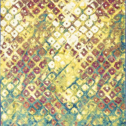 "Loloi Rugs - Loloi Rugs Madeline Collection - Multi, 7'-7"" x 10'-5"" - Distinguished by its unprecedented watercolor design, the Madeline Collection features a series of gorgeous, show-stopping rugs at an unbeatable price. Power-loomed of 100% polypropylene in Egypt, Madeline's color space-dyeing technique gradates the bold and vibrant colors throughout the rug to create a stunning rendition of popular watercolor paintings."