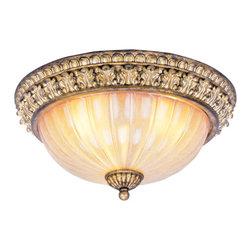 Livex Lighting - Livex Lighting 8819-65 Ceiling Light/Flush Mount Light - Livex Lighting 8819-65 Ceiling Light/Flush Mount Light