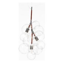 Pelle Designs - Pendant Bubble Chandelier | Pelle Designs - Design by Jean and Oliver Pelle, 2012.