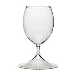 Wine glass t.e. 086 By Thomas Eyck - The Wine Glass from Thomas Eyck is a nicely balanced glass that begs to be held and never put down. There is no thick, chunky lines with the V Wine glass, yet it is microwave and dish washer safe.