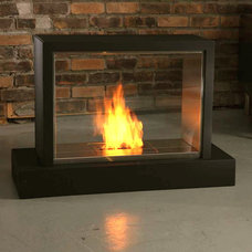 Modern Indoor Fireplaces by Vicki Semke