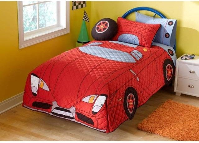 Contemporary Kids Bedding by 2 Little Monkeys