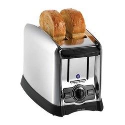 Hamilton Beach - Hamilton Beach Proctor Silex Commercial 2-slot Toaster - No kitchen is complete without a reliable toaster from Hamilton Beach. This Proctor Silex toaster features a convenient bagel function and auto toast boost.