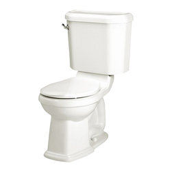 American Standard - Townsend Champion 4 Right Height Round Two-Piece Toilet in White - American Standard 2735.014.020 Townsend Champion 4 Right Height Round Two-Piece Toilet in White.