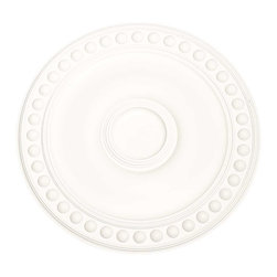 Renovators Supply - Ceiling Medallions White Urethane Ceiling Medallion 19'' Dia - Ceiling Medallions: Made of virtually indestructible  high-density  urethane our medallions are cast from  steel molds  making them the highest quality on the market. Steel molds provide a higher quality result for  pattern consistency, design clarity & overall strength & durability.  Lightweight they are  easily installed  with no special skills. Unlike plaster or wood urethane is resistant to  cracking, warping or peeling.   Factory-primed  these medallions are ready for finishing.