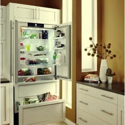 """Liebherr - HC-2062 36"""" 19.5 Cu. Ft. Built In French Door Refrigerator with 2 Glass Shelves - Liebherr is the worldwide leader in premium refrigeration With over 50 years of experience in cooling the German manufacturer sets the pace with continuous product innovation and a proactive approach to responsible manufacturing"""