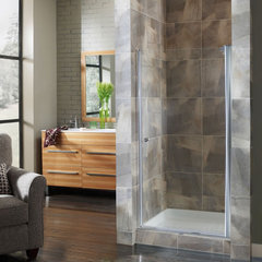 contemporary showers Cove Shower Doors