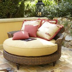 Outdoor Circular Chaise -