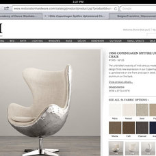 Like this chair from RH