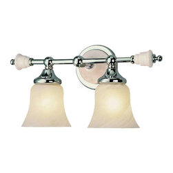 Trans Globe Lighting - Trans Globe Lighting 7032 PC Bathroom Light In Polished Chrome - Part Number: 7032 PC