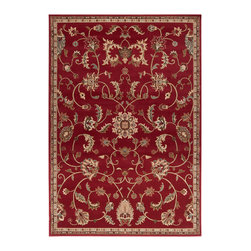 """Riley RLY5024 Rug - 2'3""""x3' - A cross between sophistication and a contemporary, chic look, Surya's Riley collection has a variety of area rugs for your casual or formal area. With cool, soothing colors hues these amazing rugs are an excellent piece to warm the ambiance."""