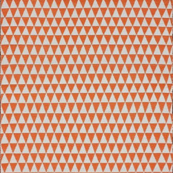 Nu Loom - Indoor/Outdoor Veranda 5'x8' Rectangle Orange Area Rug - The Veranda area rug Collection offers an affordable assortment of Indoor/Outdoor stylings. Veranda features a blend of natural Orange color. Handmade of 100% Polypropylene the Veranda Collection is an intriguing compliment to any decor.