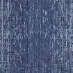 Navy Two Toned Cross Stitch Metallic Sheen Upholstery Fabric By The Yard - This multipurpose fabric is great for residential upholstery, bedding and drapery. This material is woven for enhanced elegance. The sheen of this material varies depending on the light for a unique appearance.