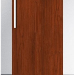 """Summit - FF1538BIF 3.0 Cu. Ft. 15"""" Wide All-Refrigerator with Digital Thermostat and Disp - SUMMIT39s selection of built-in undercounter refrigeration includes uniquely sized 15 wide units for a slim fit with user-friendly convenience The FF1538 is an auto defrost all-refrigerator in a slim 15 width The front-breathing system allows built-i..."""