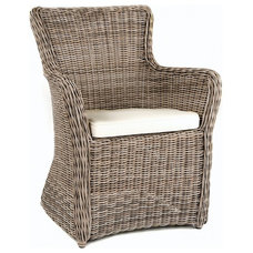 Transitional Outdoor Lounge Chairs by Garden Cottage