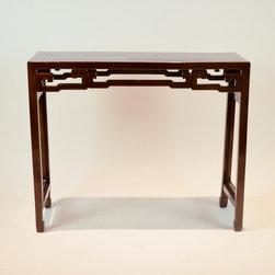 Chinese Chumu Wood C19th - Dimensions: L 41''  × W 14''  × H 35''