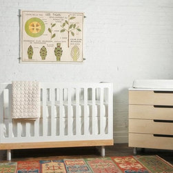 Classic Crib - This crib and dresser set by Oeuf offers the advantage of a great neutral color palette. I love how unfussy they look.
