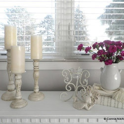 French-inspired Living Room - Connie Nikiforoff Designs