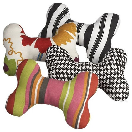 Eclectic Dog Toys by Crate&Barrel