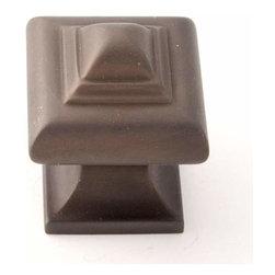 Alno Inc. - Alno Creations 1 1/4 Inch Knob Chocolate Bronze A1520-Chbrz - Alno Creations 1 1/4 Inch Knob Chocolate Bronze A1520-Chbrz