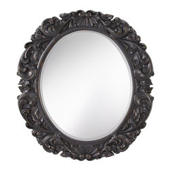 Murray Feiss - Murray Feiss Imperial Traditional Oval Mirror X-RBL0511RM - Murray Feiss Imperial Traditional Oval Mirror X-RBL0511RM