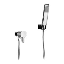 """Toto - Toto TS960F1#CP Polished Chrome Soiree Hand Shower Set with Lever Handle - Toto TS960F1#CP Hand Shower Set from the Soiree Collection with Contemporary Style with 60"""" Hose in a Polished Chrome Finish"""