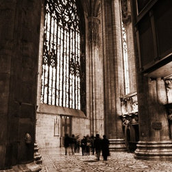 Inside The Duomo, Limited Edition, Photograph - Milan: Inside the Duomo