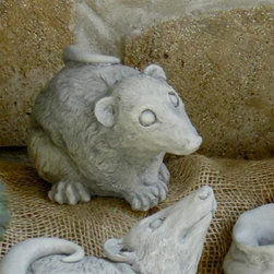 Brookfield - Eddie the Possum Garden Statue - 122-N - Shop for Statues and Sculptures from Hayneedle.com! Eddie the Possum will make a delightful addition to your lawn or garden. Expressive gesture adds realism Cast from a rubber mold for a seamless finish Weather-resistant for a lifetime of use Available in a variety of finishes What We Like About Eddie the Possum Eddie the Possum is realistically postured and made from weather-resistant fiber reinforced concrete that will ensure he has a long and happy life spending his day in your garden. He also has an adorable wide-eyed expression that makes him irresistible.The Eddie the Possum Garden Statue will be a positively charming addition to your garden or flower patch.