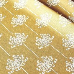 Organic Fabric - Mum - Certified Organic Cotton/Hemp blend, 8-11oz, Printed in USA