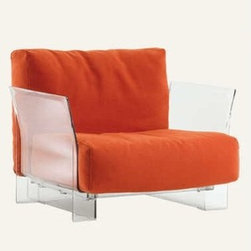 Kartell - Kartell | Pop Sofa with Trevira™ Fabric - Design by Piero Lissoni with Carlo Tamborini.