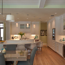 Traditional Kitchen by BCBE Construction LLC