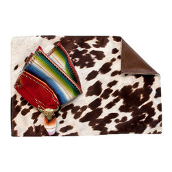 Silverado Home - Udder Madness Brown Placemat - Sold in Sets of Four: