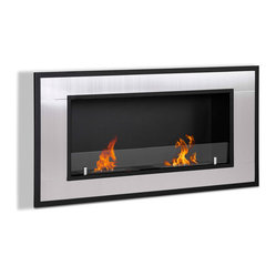 Lugo Wall Mounted Ethanol Fireplace