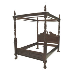 Abele Four Poster Bed - Lansky Studio
