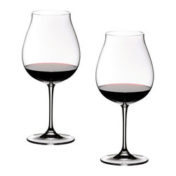 "Riedel - Riedel Vinum XL Pinot Noir Glasses - Set of 2 - Launched in 2008. Created during several workshops with the famed Oregon Producers, the shape clearly shows the fresh compact fruit of North West Pinot Noir and highlights the irresistible sweetness, whilst perfectly balancing the acidity and deemphasing the alcohol to create a perfect picture of the wine. Or, in the words of Georg Riedel, ""The perfect Oregon Pinot Noir dream glass""."