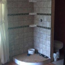 Modern Showerheads And Body Sprays by E.J.Fikar Contracting LLC
