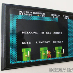 Super Mario Bros. Three-hook Key Holder by Deeply Dapper - I can't even express how much I dig this handmade, customizable hanger. It's made for keys, but I can see it hanging robes or jackets or whatever.