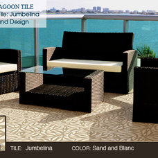 Contemporary Floor Tiles by Villa Lagoon Tile