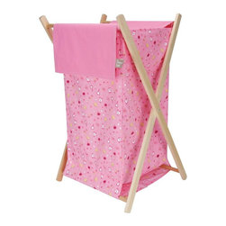 Trend Lab - Trend Lab Baby Storybook Princess Hamper Set - 21561 - Shop for Hampers from Hayneedle.com! A baby's dirty laundry isn't always pretty but it will look much better inside the Trend Lab Baby Storybook Princess Hamper Set. This handy laundry hamper features a princess scatter print body and rose pink outer flap that easily attaches to the collapsible pine wood frame. Plus its machine-washable inner mesh liner is removable which makes doing laundry a cinch.About Trend LabFormed in 2001 in Minnesota Trend Lab is a privately held company proudly owned by women. Rapid growth in the past five years has put Trend Lab products on the shelves of major retailers and the company continues to develop thoroughly tested high-quality baby and children's bedding decor and other items. Trend Lab continues to inspire and provide its customers with stylish products for little ones. From bedding to cribs and everything in between Trend Lab is the right choice for your children.