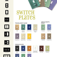 eclectic switchplates by Clay Squared to Infinity
