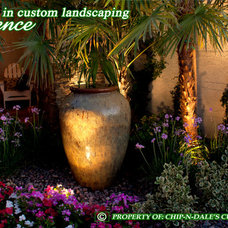 Landscape by CHIP-N-DALE'S CUSTOM LANDSCAPING