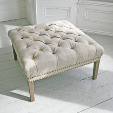 Traditional Footstools And Ottomans by Graham and Green