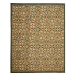 """Safavieh - Transitional Treasures 8'9""""x12' Rectangle Blue-Gold Area Rug - The Treasures area rug Collection offers an affordable assortment of Transitional stylings. Treasures features a blend of natural Blue-Gold color. Machine Made of Polypropylene the Treasures Collection is an intriguing compliment to any decor."""